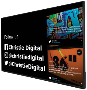 Christie Seenspire LCD panel - digital signage oplossing