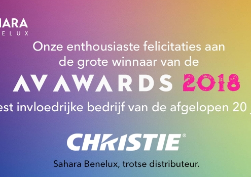 Christie Digital AV Award 2018