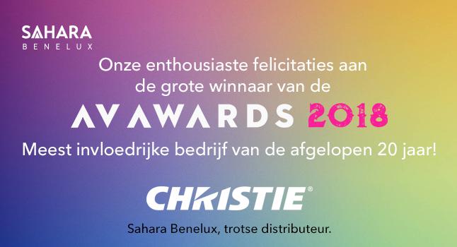 Christie Digital AV Award 2018