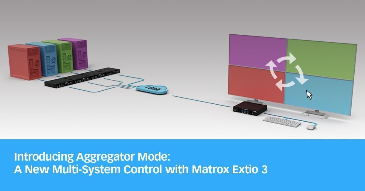 Matrox Extio3 aggregator