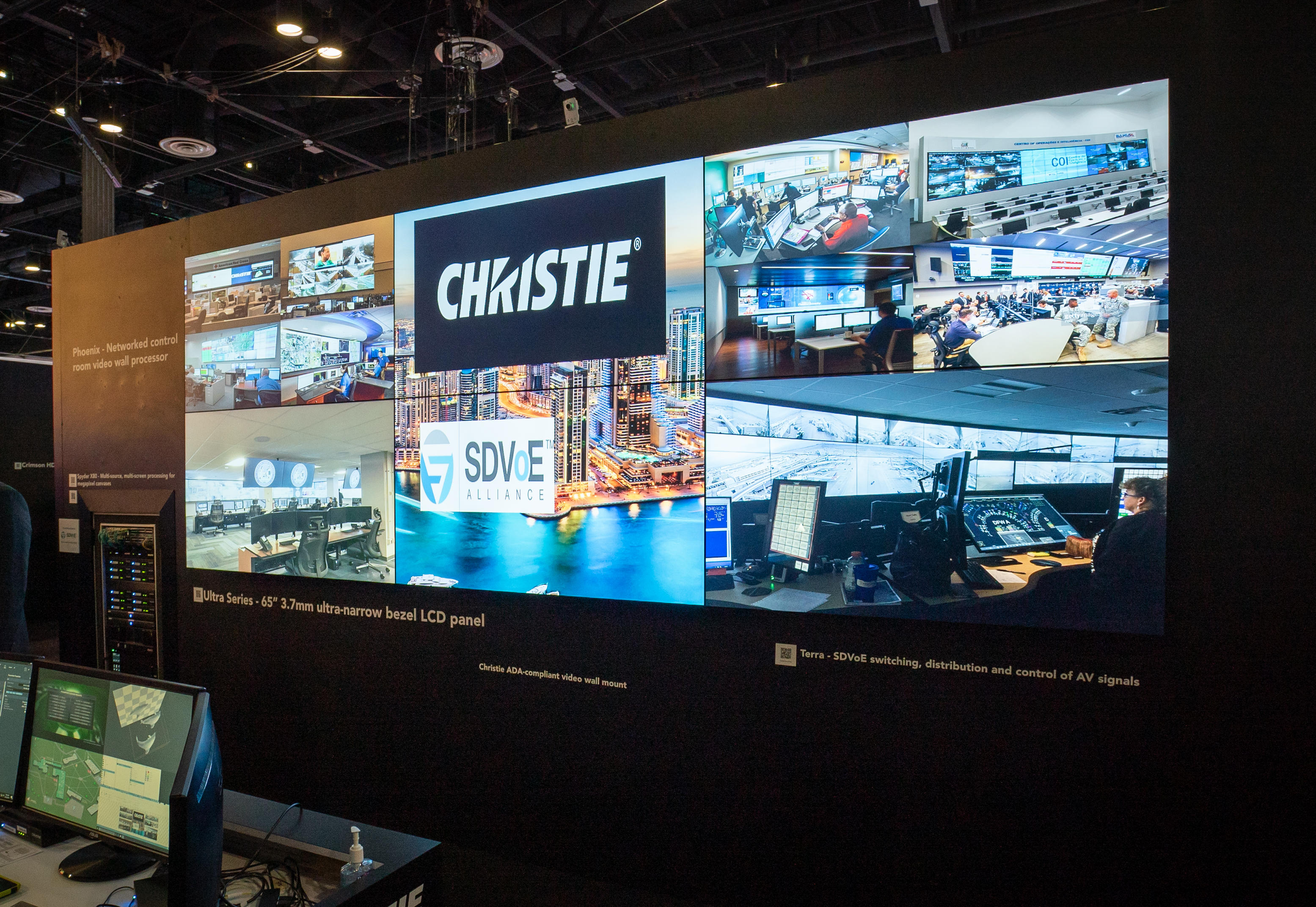 Christie Ultra serie videowall