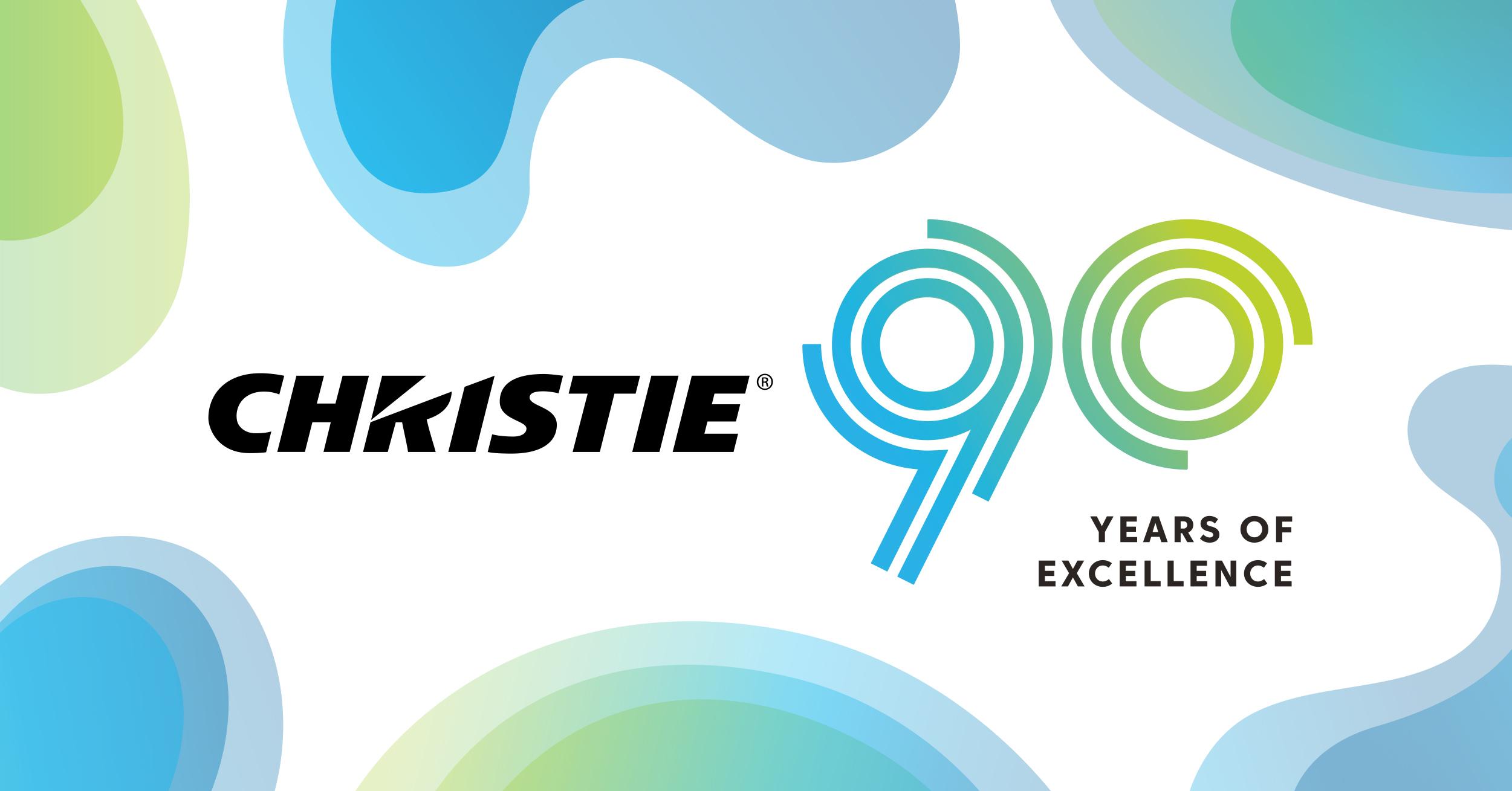 Christie Digital 90 jaar
