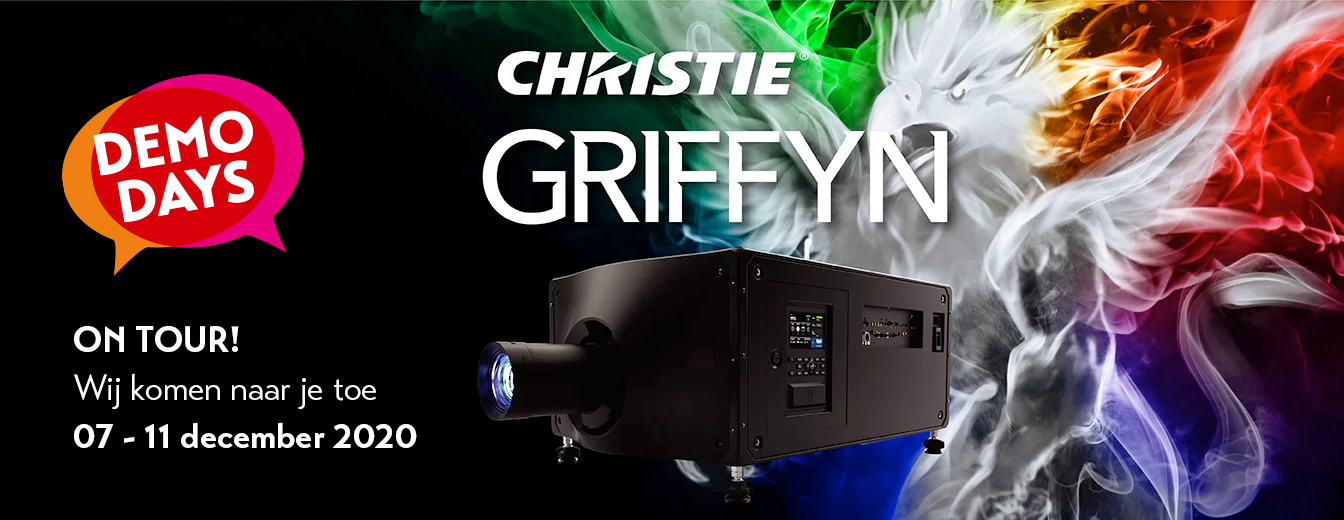 Christie Griffyn 4K32-RGB demo days tour webbanner