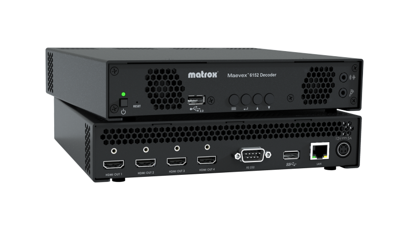 Matrox Maevex 6150 Quad 4K Enterprise Encoder Finalist