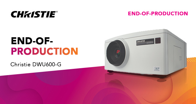DWU600-G 1DLP projector - end of production