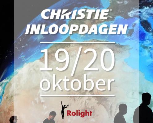 Christie Inloopdagen bij Rolight